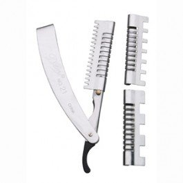 Stainless Steel Hair shaper (state board razor of choice.)